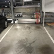 Indoor lot parking on Bank Street in South Melbourne