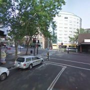 Outdoor lot storage on Bayswater Rd in Potts Point
