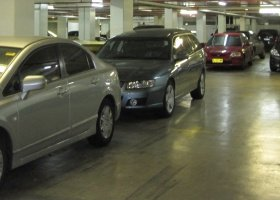 Security car parking near Sydney Airport.jpg