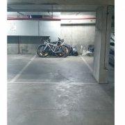 Indoor lot parking on Bourke Street in Melbourne