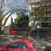 Outdoor lot parking on Bourke Street in Surry Hills