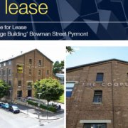 Indoor lot parking on Bowman Street in Pyrmont