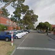 Undercover parking on Brougham Street in North Melbourne
