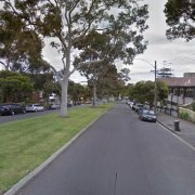 Outdoor lot parking on Brougham Street in North Melbourne