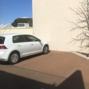 Outdoor lot parking on Bulwer Street in Perth