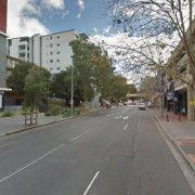 Undercover parking on Campbell Street in Parramatta
