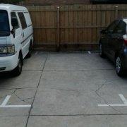 Outdoor lot parking on Cardigan Street in Saint Kilda East