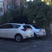 Outdoor lot parking on Chapman Street in North Melbourne