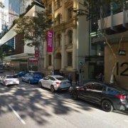 Indoor lot parking on Charlotte Street in Brisbane City
