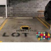 Indoor lot parking on Chisholm Street in Wolli Creek
