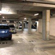 Indoor lot parking on Christie Street in St Leonards