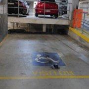 Basement parking on Church Street in Parramatta