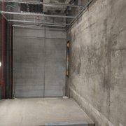 Indoor lot storage on Collins Street in Docklands