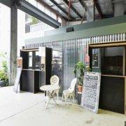Garage parking on Cordelia Street in South Brisbane Queensland
