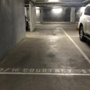 Indoor lot parking on Courtney Street in North Melbourne