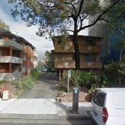 Garage parking on Cowper St in Parramatta