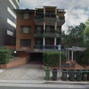 Garage parking on Cowper Street in Parramatta