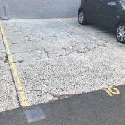 Outdoor lot parking on Darley Lane in Newtown