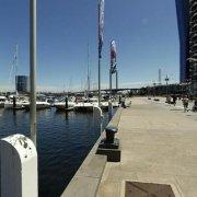 Indoor lot parking on Docklands