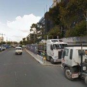 Indoor lot parking on Dorcas St in South Melbourne