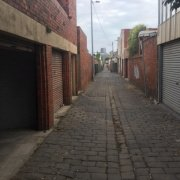 Garage parking on Drummond Street in Carlton North