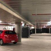 Indoor lot parking on Dryburgh Street in West Melbourne