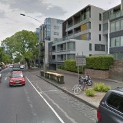 Garage parking on Dudley Street in West Melbourne