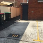 Outdoor lot parking on Dulwich Street in Dulwich Hill