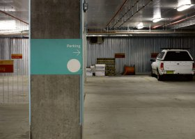 Secure Car Space in Nishi Ovolo Building NewActon.jpg