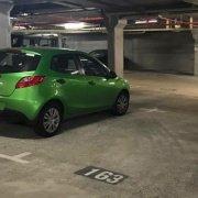 Undercover parking on Fitzroy Street in Saint Kilda
