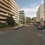Indoor lot parking on George St in Parramatta