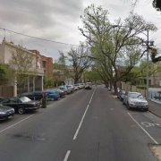 Outside parking on George Street in East Melbourne