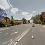 Indoor lot parking on Great Western Highway in Parramatta