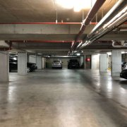 Garage parking on Greek Street in Glebe