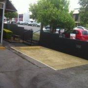 Outside parking on Heussler Terrace in Milton