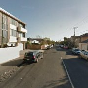 Outdoor lot parking on Hotham St in Balaclava