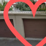 Garage parking on Howitt Street in South Yarra