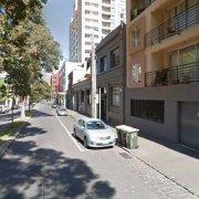 Indoor lot parking on Jeffcott St in West Melbourne