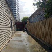 Driveway parking on Jerrold Street in Footscray
