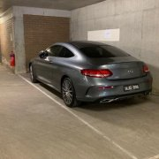Undercover parking on Jolimont Road in East Melbourne
