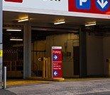 Indoor lot parking on Kent Street in Sydney