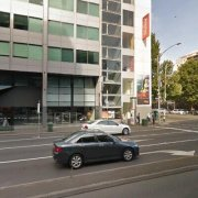 Indoor lot parking on King St in Melbourne CBD