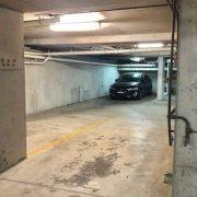 Indoor lot parking on King Street in Newtown