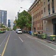 Indoor lot storage on La Trobe Street in Melbourne