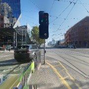 Undercover parking on La Trobe Street in Melbourne