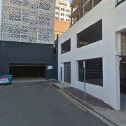 Indoor lot parking on Leichhardt Street in Spring Hill