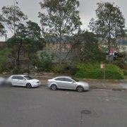 Garage parking on Lincoln Cres in Woolloomooloo
