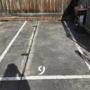 Outdoor lot parking on Little George St in Fitzroy