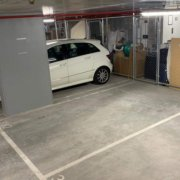 Indoor lot parking on Lygon St in Brunswick East
