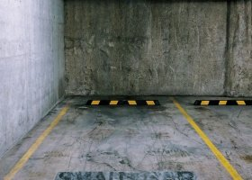 Secure parking at V by Crown building, Parramatta.jpg